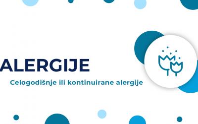 Celogodišnje ili kontinuirane alergije